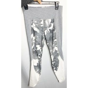 Athleta Tropical Flow High-Rise Leggings M gray